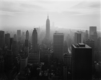 south view from 48th street [and 5th avenue], n.y.c. by nicholas nixon